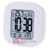 Budzik Cyfrowy DCF E0126 zegar,termometr,data,