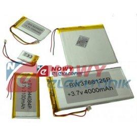 Akumulator do pakiet. 80mAh LI-POLY 3,7V 4,0x12x30mm