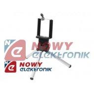 Statyw foto mini TP-28 selfie srebrny fotograficzny