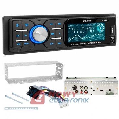 Radio samoch.BLOW AVH-8610 MP3+ USB/SD/MMC