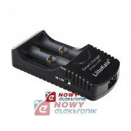 Ładowarka + 2 akumulatory CR123 12V 230V