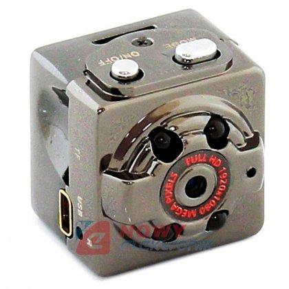 Kamera mini z detekcją ruchu SQ8 DVR szpiegowska FULL-HD