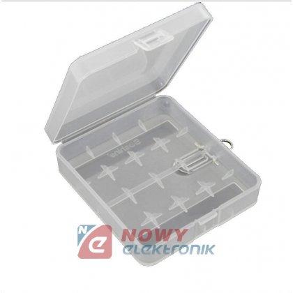 Koszyk baterii 4x18650 Li-ION bez wyprowadzeń pojemnik