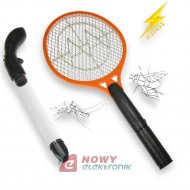 Zestaw na owady komary muchy  pająki mole odkurzacz +łapka elektryczna