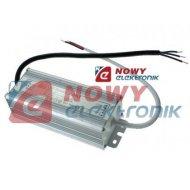 Zasilacz ZI LED 12V/3,75A IP67 A 45W Impulsowy aluminium