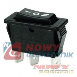 Przełącznik C1520 3poz.1p.16A ON-OFF-ON 1tor. 250VAC Kołyskowy