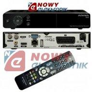 Tuner sat. cyfrowy ARIVA103  DVB-S DVB-S2 HDTV FERGUSON/BLACK