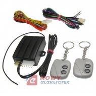 Autoalarm samoch. EXODUS NT 2p  pil. czarny/szary  ZDSM CA uniwersalny