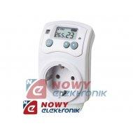 Termostat TH-810T z gniazdem el. 5+30°C (wtyczkowy) regulator temp.
