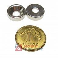 Magnes Neodymowy 10x7/3,5x3 N42