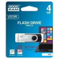 Pamięć PENDRIVE 4GB GoodRam UTS2 Flash Drive Black USB2.0