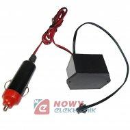 Przetwornica do Neon 12V duża EL WIRE światłowód 12V od 1m do 10m