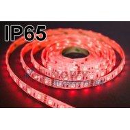 Taśma LED SMD5050 czerwonyIP(1m) IP65 (300LED/5m) w silikonie 12V