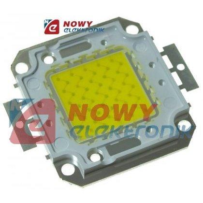 Dioda POWER LED 50W  6000-6500K Integrate  H-1