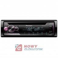 Radio samoch.PIONEERDEH-S210UI Vario Color CD+USB+MITRAX MP3