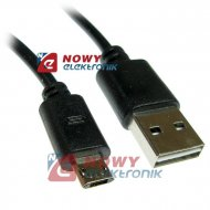 Kabel USB Wt.A-mikroUSB dwustr. HQ  duble-sided