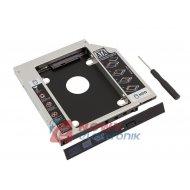 """Kieszeń dysku 2,5"""" 12,7mm  SATA adapter CD ROM DVD (HDD)"""