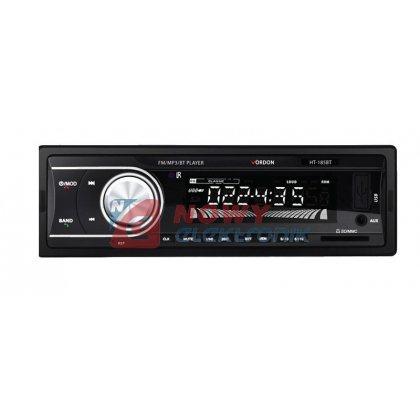 Radio samoch.Dignity HT-185BT   Bluetooth 4x45WATT USB/SD/MMC mikrofon