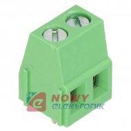 Listwa ARK DG128-5.0-02P14 kąt r-5 2pin zielona
