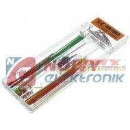 Zestaw łączówek do płytek 140szt SDXX stykowych