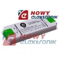 Zasilacz ZI LED 12V/0,5A CV płas FTPC6V12 ultra płaski POS IP44