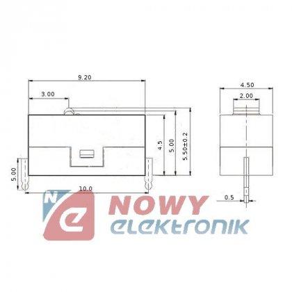 Przełącznik mini krańcówka WK280