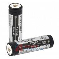 Akumulator 18650 PCM 2200mAh ICR 3,7V LI-JON PCM     64mmX18mm XTAR