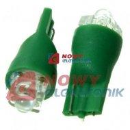 Dioda LED 194HG T10GFLUX W5W zielona