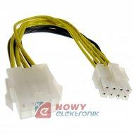 Kabel EPS 0.2m 8pin F - 8pin M ATX  ICIDU (MOLEX)