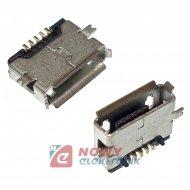 Gniazdo USB micro AB SMD 5p Vitalco, montażowe