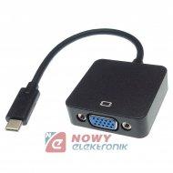 Adapter USB-C do VGA SVGA konwerter do Apple MacBook
