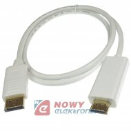 Kabel Displayport na HDMI 1,8m