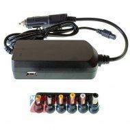 Zasilacz ZI laptop uniw. 12-24V TIR 90W 19V 4,62A  6 wt.