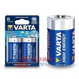 Bateria LR20 VARTA HIGH ENER. EXTRA