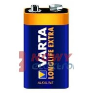 Bateria 6LR61 VARTA LONGLIFE 9V / ENERGY VARTA