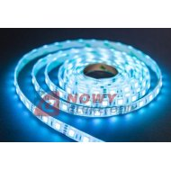 Taśma LED SMD5050 niebieski (1m) (300LED/5m) bez silikonu 12V