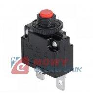 Wyłącznik nadpr. Reset 2A MR1 230V  bezpiecznik autom.bimetal