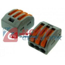 Zacisk wago 222-413 3x(0,08-4mm2 linka i drut