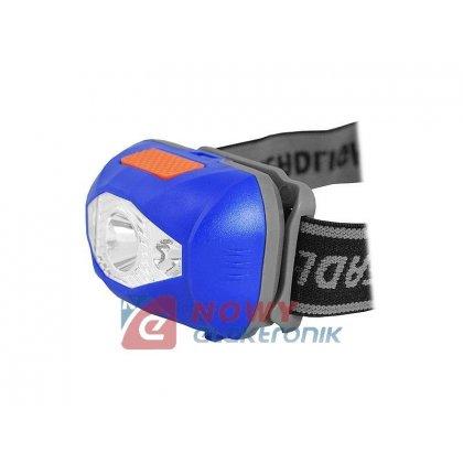 Latarka czołowa LTC LL50 1W LED 5 trybów światła