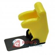 Osłona bezpieczeństwa żółta przełącznika samolotowego T-CAP-Y