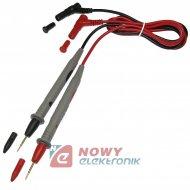 Kable do miernika cienka igła HQ 10A 1000V NEPOWER do multimetra przewody