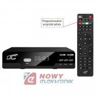 Tuner TV naz. LTC HDT02 DVB-T-2 z pilotem programowalnym