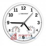 Zegar ścienny ESPERANZA EHC016W biały  25cm