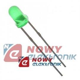 Dioda LED 5mm zielona L-53GD