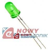 Dioda LED 5mm zielona transpare L-53GT