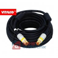Kabel wt.TV/gn.TV 10m digital AK50 Vitalco