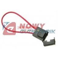 Gniazdo bezp.samoch. UNI S1038-5 na kabel czarne