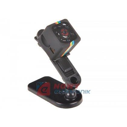 Kamera mini szpiegowska SQ11 (z uchwytem)