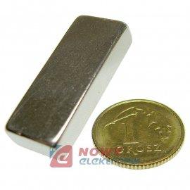 Magnes neodymowy 25x10x5 N42