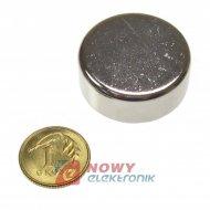 Magnes neodymowy 25x10 N42